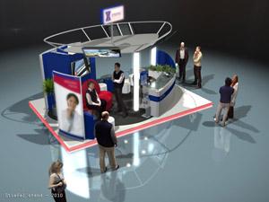 Stiefel - Stand tervezés, egyedi standépítés (2010, 6x4)