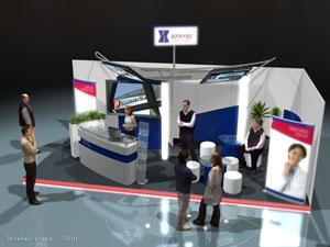 Stiefel - Stand tervezés, egyedi standépítés (MDT Kongresszus, 2010)
