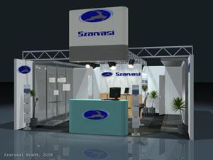 Szarvasi Vas-Fémipari Zrt - Stand tervezés és egyedi standépítés (2008)
